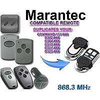 Marantec Garaje mando a distancia emisor Adecuado