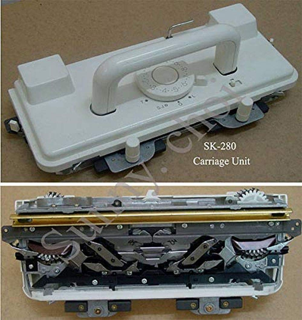 SUNNY CHOI Carriage Complete Set for Singer Silver Reed Knitting Machine SK218, SK260, SK280, SK360, SK600, SK700 by SUNNY CHOI (Image #1)