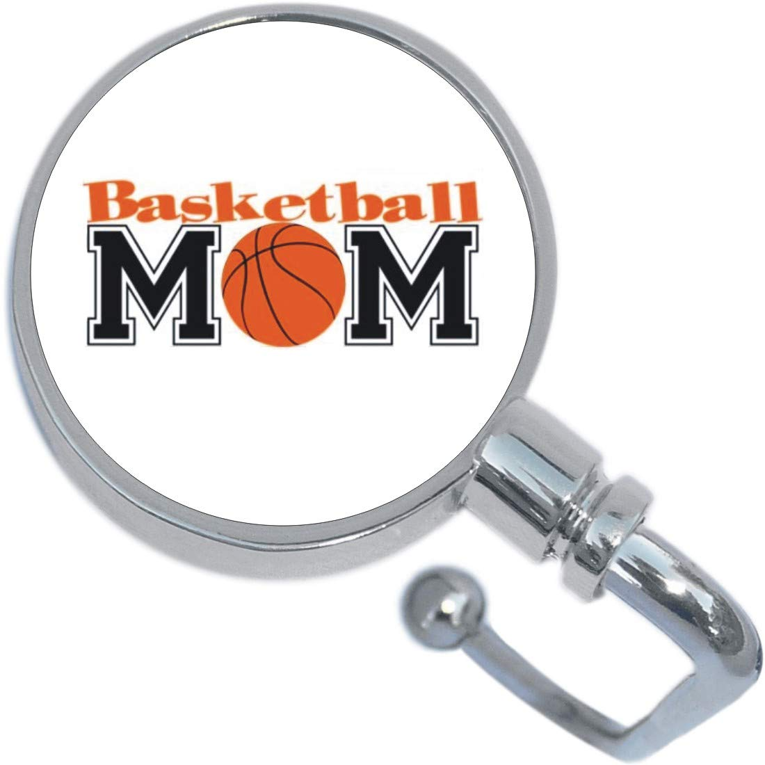 Basketball Mom Purse Hanger and Pouch