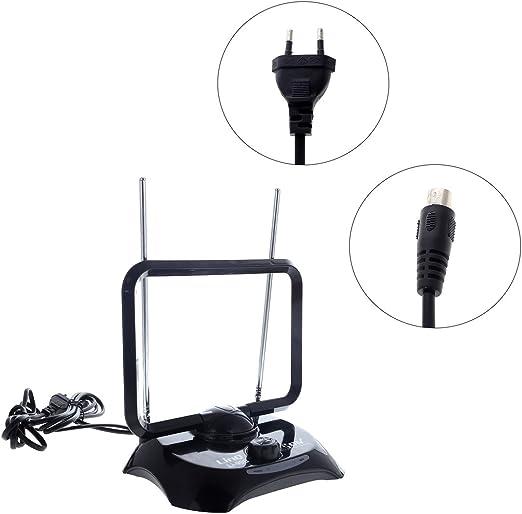 cigalinq/® 99B DVBT de antena 38DBI Digital Full HD