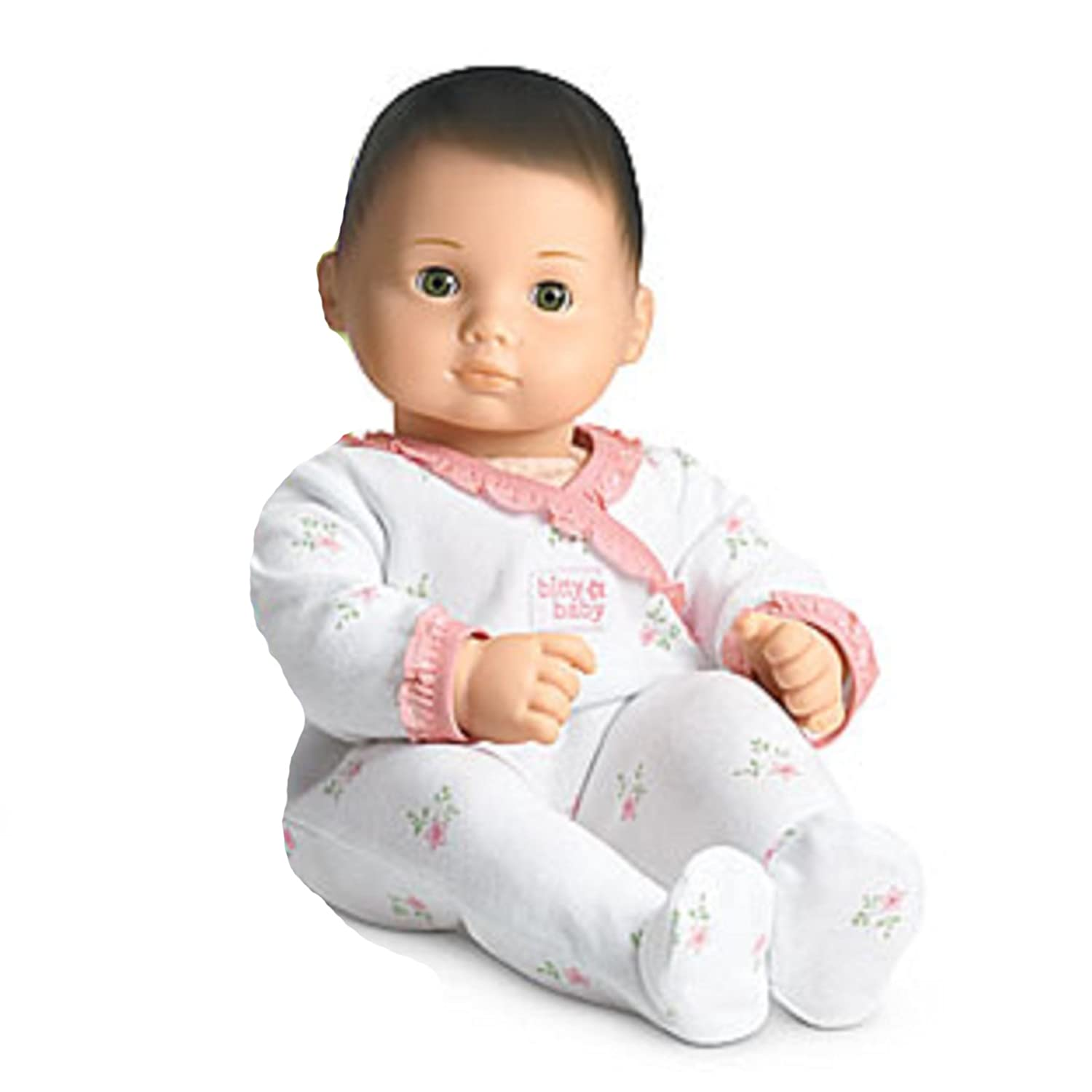 Amazon American Girl Bitty Baby Doll Light Skin Brown Hair