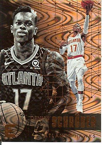 2017-18 Essentials Spiral #6 Dennis Schroder Hawks