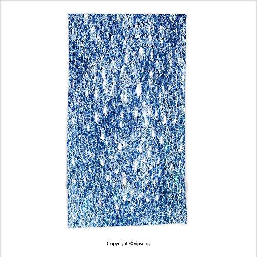 Vipsung Microfiber Ultra Soft Hand Towel-Diamond Decor Various Diamonds Gems Alluring Rocks Stones In Storm Abstract Rocks Crystal Love Decoration Blue For Hotel Spa Beach Pool Bath