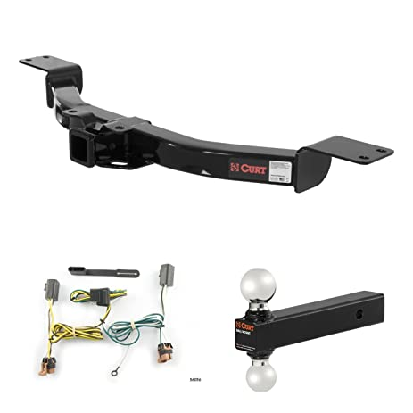 amazon com curt trailer hitch, wiring & multi ball ball mount for 2007 gmc acadia power steering curt trailer hitch, wiring & multi ball ball mount for 2007 2012 gmc