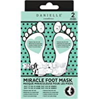 Danielle Miracle Nourishing Foot Mask, 2-Pack, 0.3 Pound