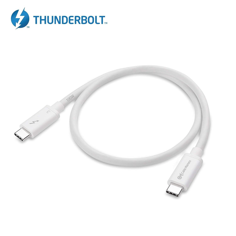 Amazon.com: [Certificado] Cable Matters Thunderbolt 3 USB-C ...