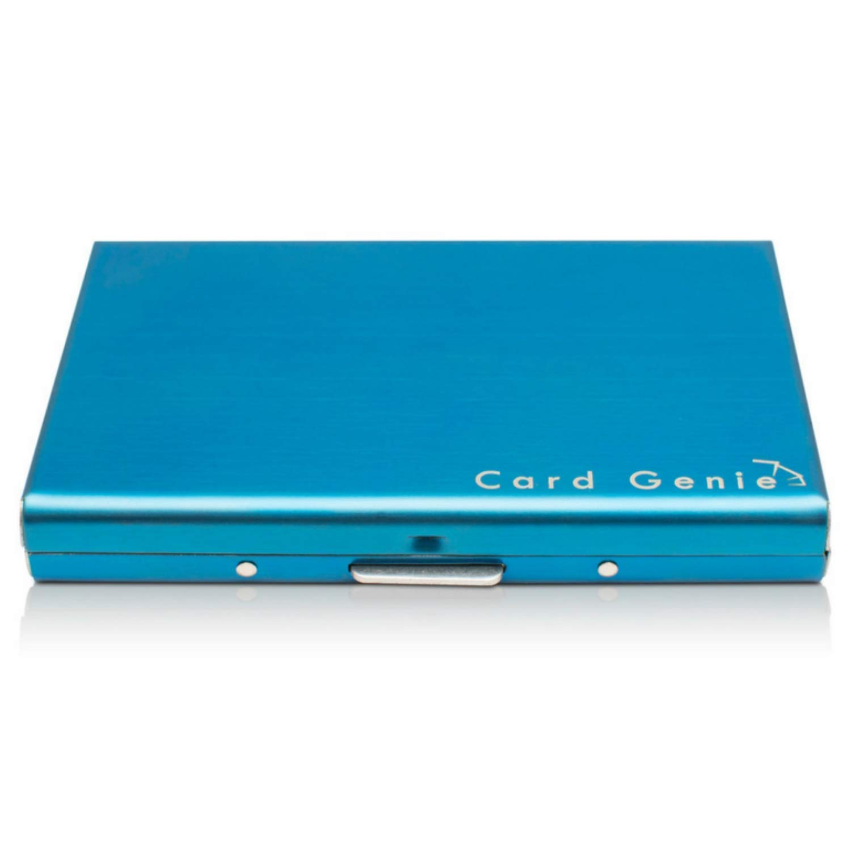 Cartera Pequeña de Metal Anti RFID de Card Genie - Tarjetero Impermeable Portatarjetas Metálico de 6
