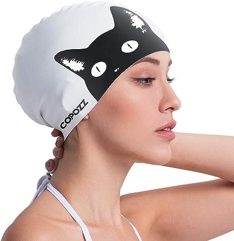 One opening Toddler Kids Baby Boy Girl PU Waterproof Swimming Cap Stretchy Bathing Suit Hat Cartoon Swimwear Hat
