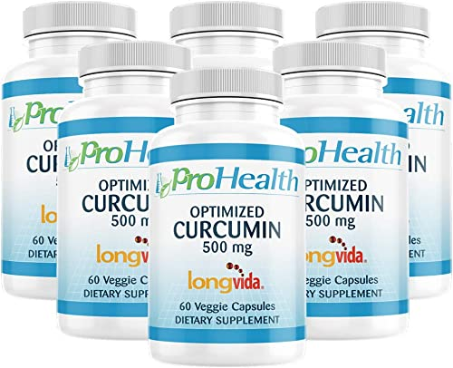 ProHealth Optimized Curcumin Longvida 6-Pack 500 mg