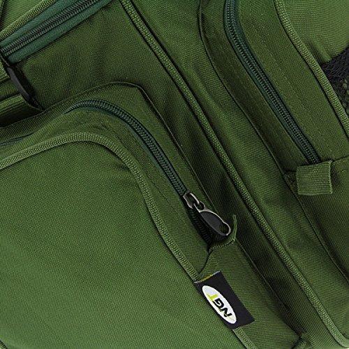 709 Neu Karpfen Gr/ün Isoliert Carry All Camping Angeln Picknick-tasche