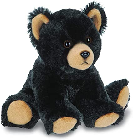 Bearington Lil/' Huck Small Plush Stuffed Animal Black Bear 7 inches