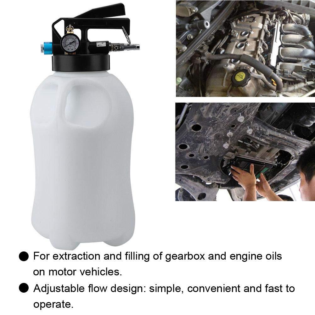 10L Sistema autom/ático de llenado Dispensador de aceite y l/íquido Extractor Transmisi/ón autom/ática