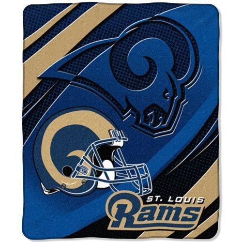 Throw Blanket Raschel Micro 50x60 (NFL St. Louis Rams 50-Inch-by-60-Inch Micro-Raschel Plush Throw