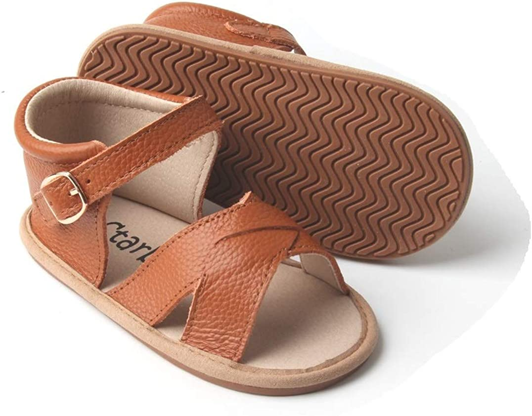 Girls Summer Diamante Childrens Buckle Smart Sandals Strappy Flat Shoes Size