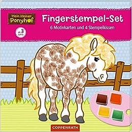 Mein kleiner Ponyhof kleben malen Buch 2018 Mein erstes Bastelbuch Schneiden