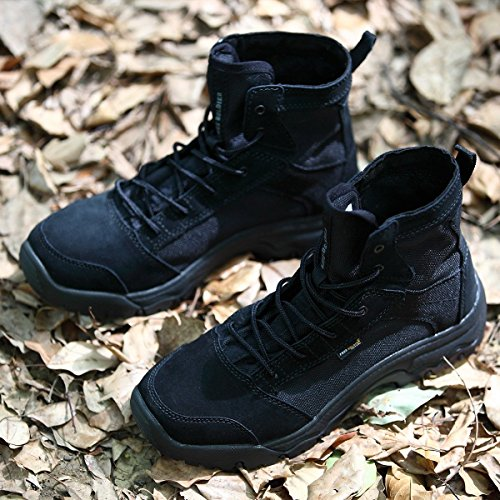 Durable Chaussure Ultra Hommes Léger SOLDIER Bottes sans FREE Noir Respirant D'extérieur Tactique Tempête CAwTaqn