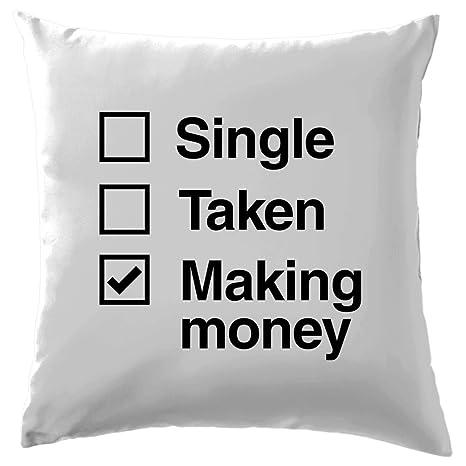 Single Taken hacer dinero - Cojín 41 x 41 cm (16