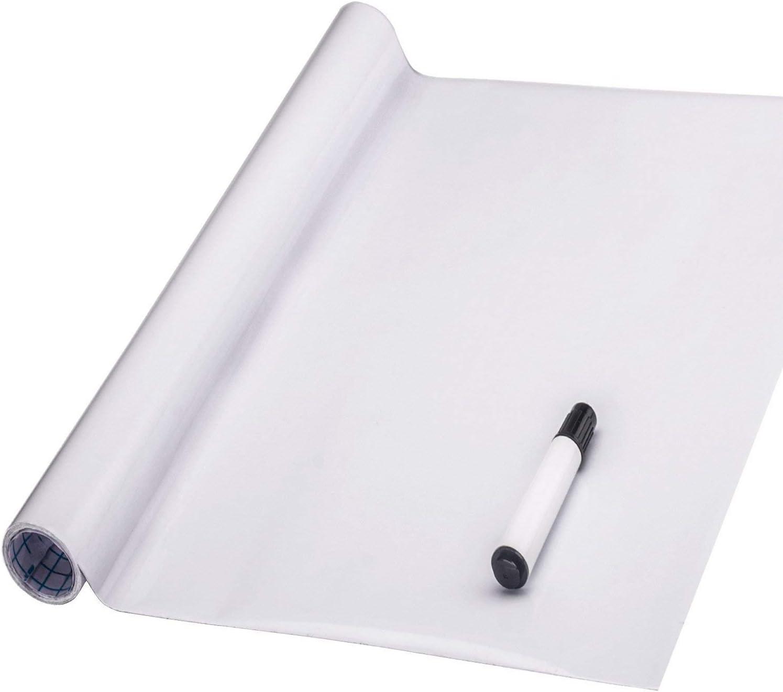 Photo de fentis-tableau-blanc-sticker-tableau-adhesive-et-amovible