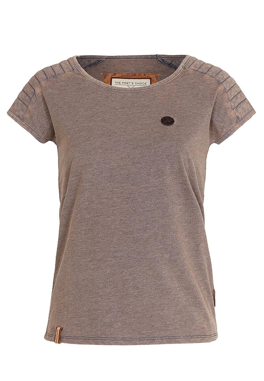 Damen T-Shirt Naketano Gleitgel Oder Mehl? T-Shirt