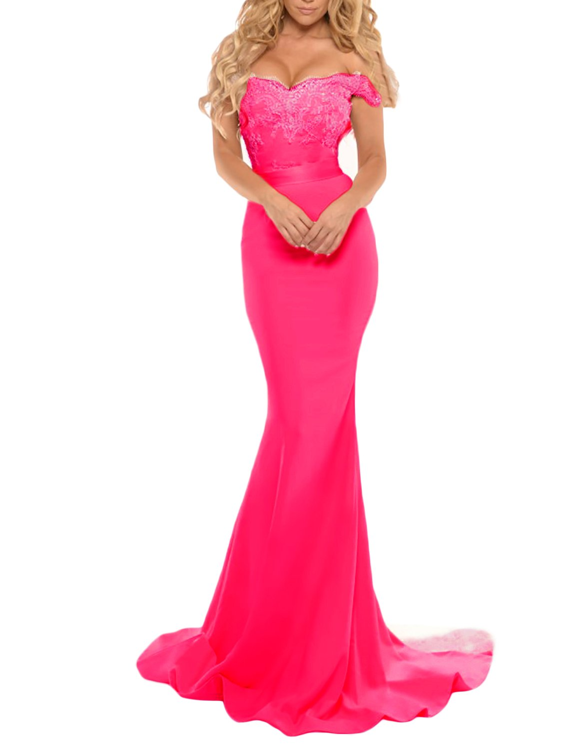 Watermelon Evening Gown: Amazon.com