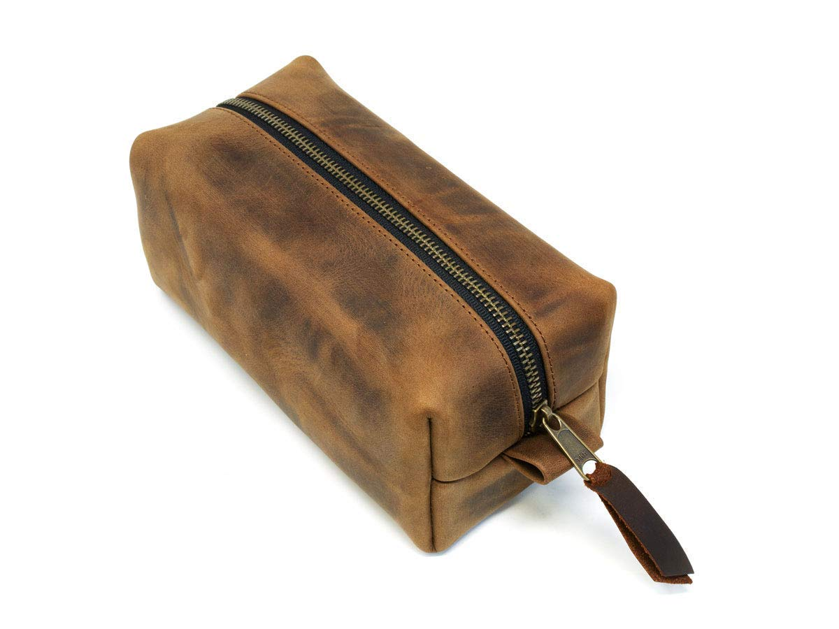 Travel Kit Mens Single Top Zip Case