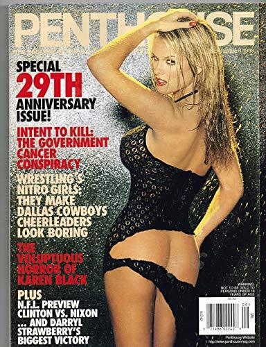 Penthouse Magazine September 1998 WCW Nitro Girls 29th Anniversary Darryl Strawberry Single Issue Magazine - 1998 ()