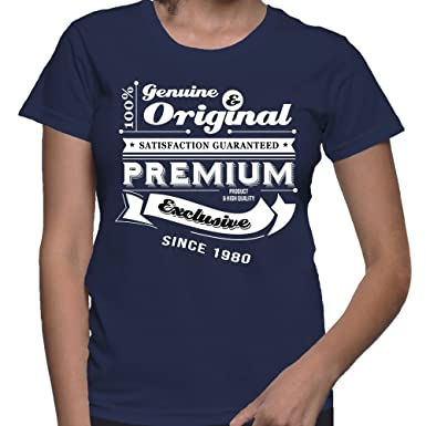 Gift For 36 Year Old Women Birthday Genuine And Original T Shirt Present