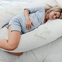 Australian Made Bamboo Pregnancy/Maternity/Nursing Pillow Body Feeding Support (Bamboo Pillowcase Included)