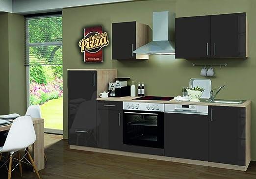 Menke Smart de Cocina línea 270 cm Brillante Lava con Lavavajillas ...
