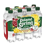 Poland Spring Sparkling Water, Pomegranate Lemonade, 16.9 oz. Bottles (Pack of 8)