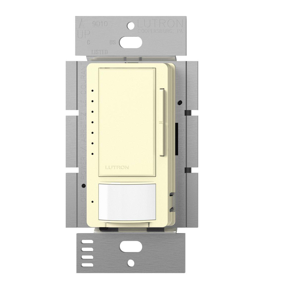 Lutron MSCL-VP153M-AL Maestro CL Single Pole Multi Location Vacancy Sensing Dimmer, Almond by Lutron B00FQL1T30 アーモンド アーモンド