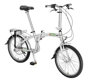 Beixo bicicleta plegable con cardan - Compact 7 Silver