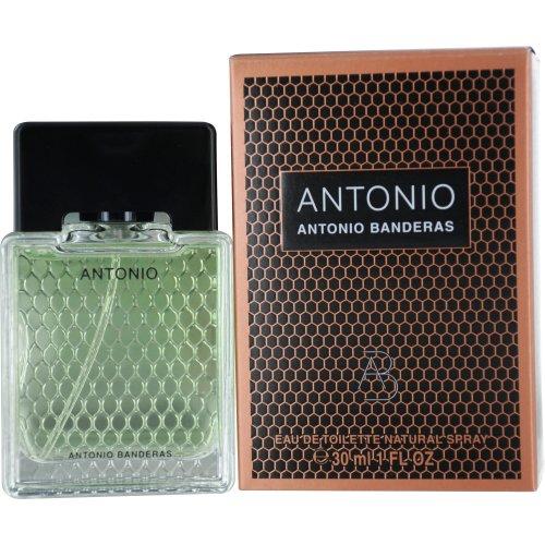 Antonio by Antonio Banderas Eau De Toilette Spray for Men, 1 Ounce