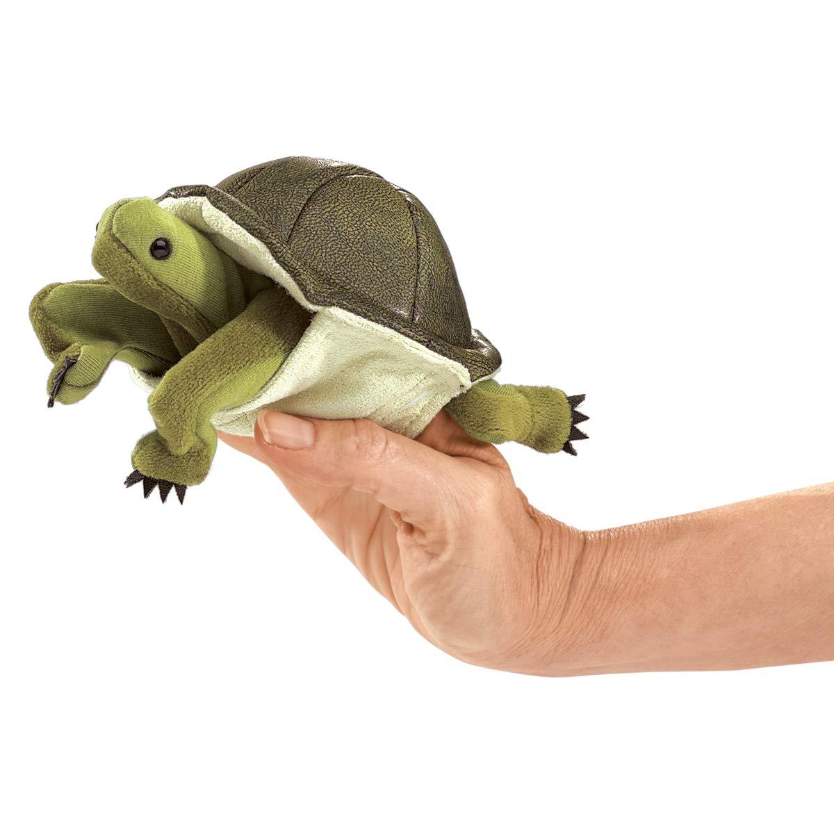 Folkmanis, Fingerpuppe Schildkröte