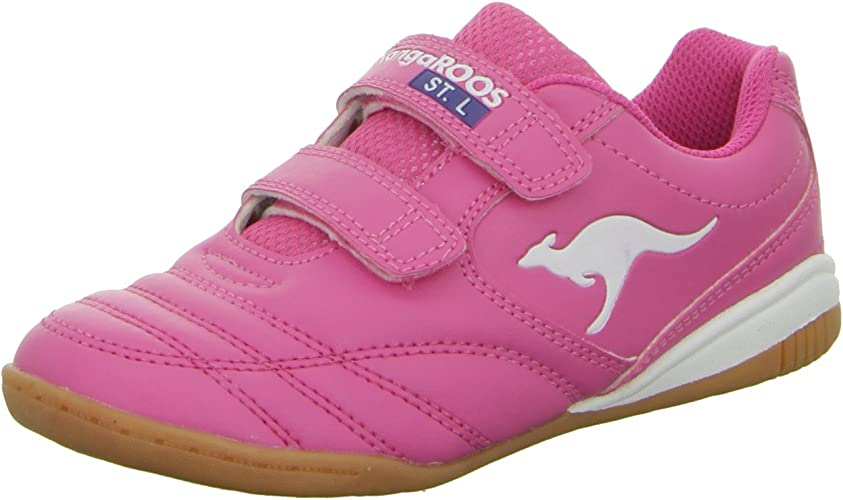 Trainers Pink Low Shoe Velcro Fastener