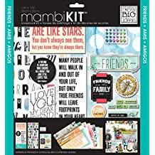 Me and My BIG Ideas SRK-139 Mixed Friends Mambi Scrapbook Kit, 12 by 12-Inch