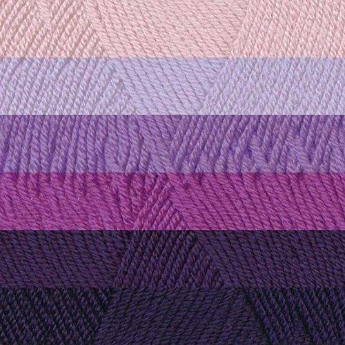 Katia Ombre Yarn Kit (01 - Violets)