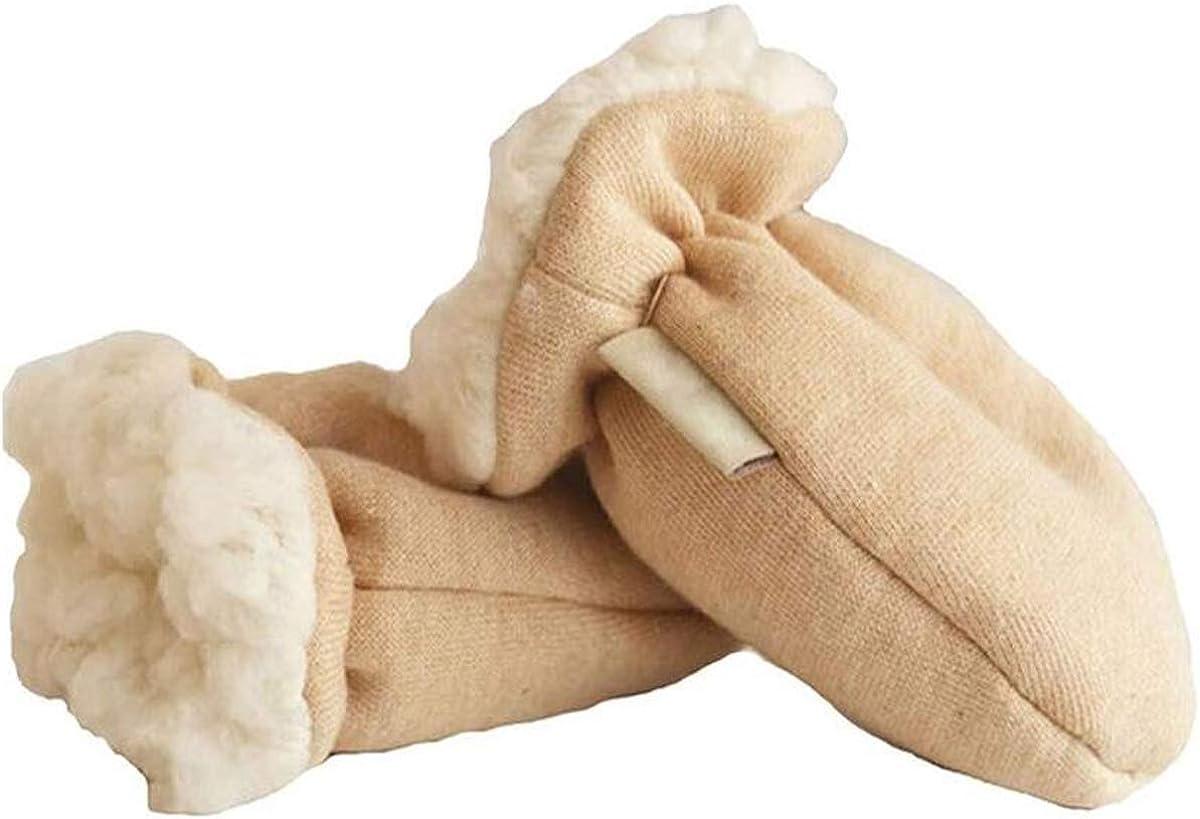 Joywod Moufles dhiver chaudes doubl/ées en polaire sherpa pour b/éb/é Pour b/éb/é de 0 /à 24 mois Anti-rayures et anti-germes