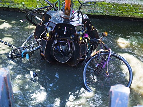 Fishing for Bikes in the Amsterdam Canals
