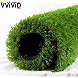 VViViD Artificial Grass Synthetic Weatherproof Vinyl Turf Mat Roll - Choose Your Size (1ft x 1ft)