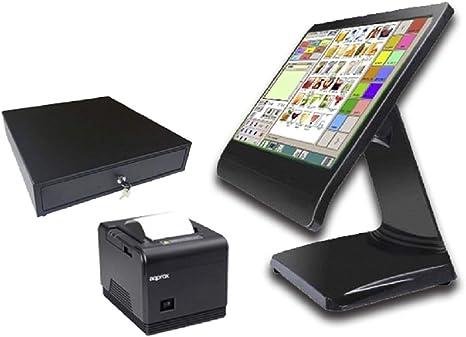 TPV hostelería táctil Completo + cajón + Impresora 80mm + Software …: Amazon.es: Informática