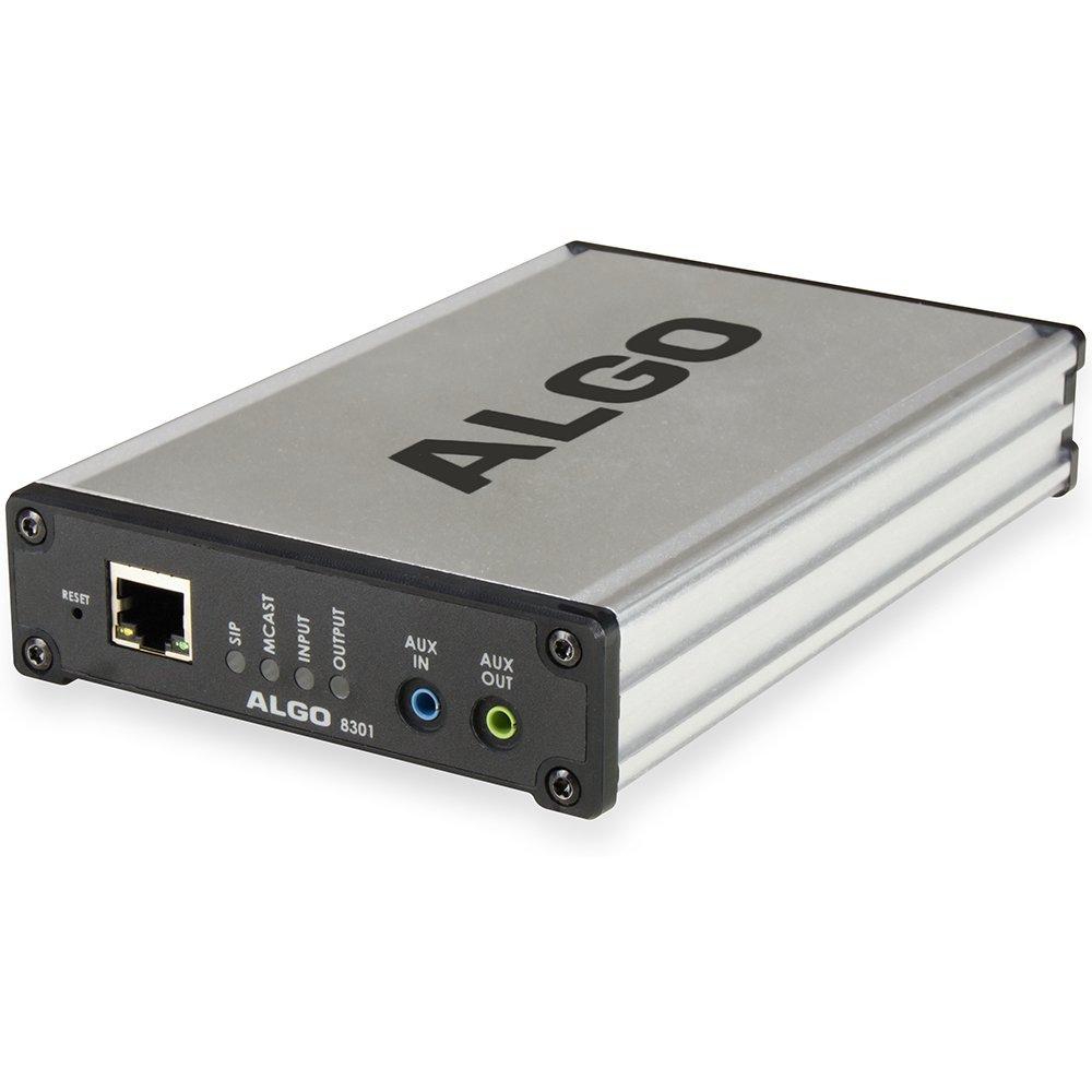Algo 8301 IP Voice Paging Adapter & Bell Scheduler by ALGO