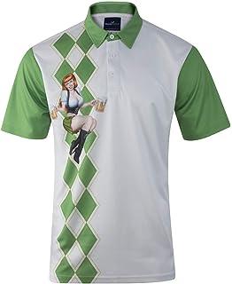37f2fa1f Amazon.com: ReadyGOLF Mens Golf Polo Shirt - Caddyshack Quote Shirt ...