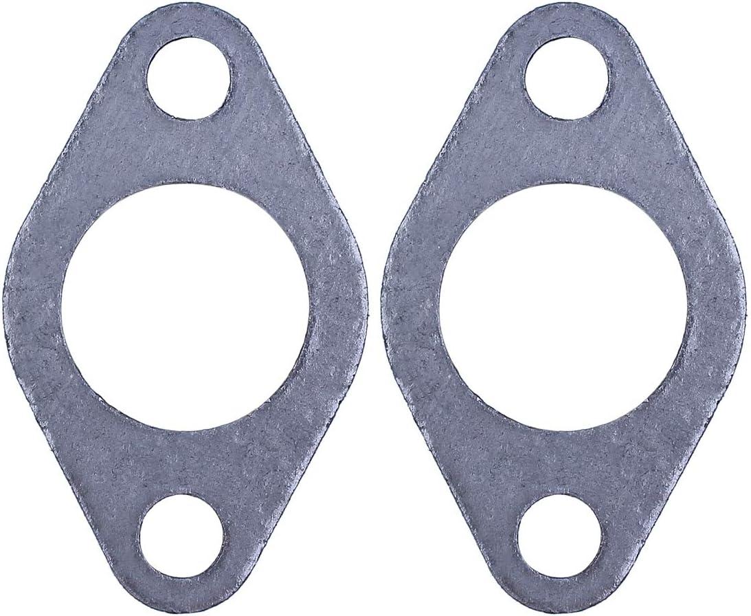 Haishine Auspuff-Dichtung f/ür Honda GX270 GX390 GX340 GX240 188F 190F 5,5-6,5 KW Kleinmotor-Benzingenerator-Teile 2 St/ück