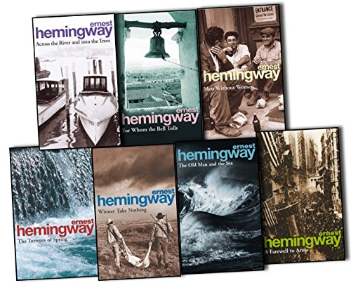 Ernest Hemingway (Arrow Classic) 7 Books Collection Pack Set (For Whom the (Sea Arm Vii Set)