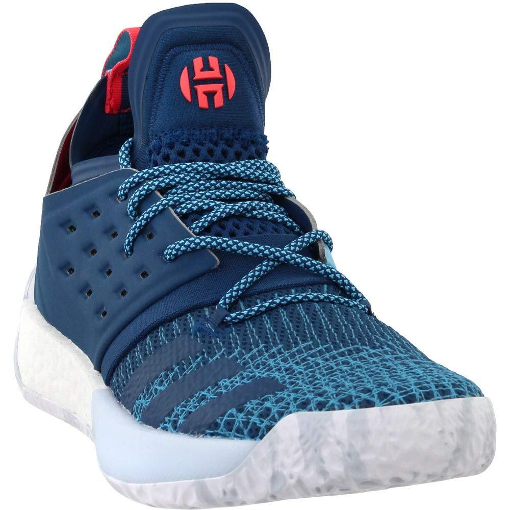 Adidas Harden Vol. 2, schuhe de Baloncesto para Hombre Blau Night Bright Cyan