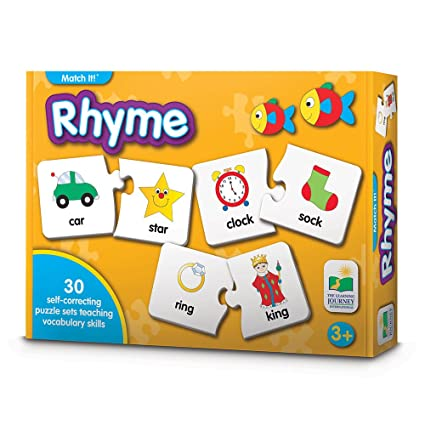 amazon com the learning journey match it rhyme 30 self