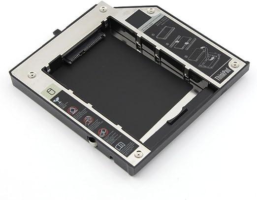 SATA 2 nd HDD o SSD Disco Duro Bandeja Caddy para Lenovo ThinkPad ...