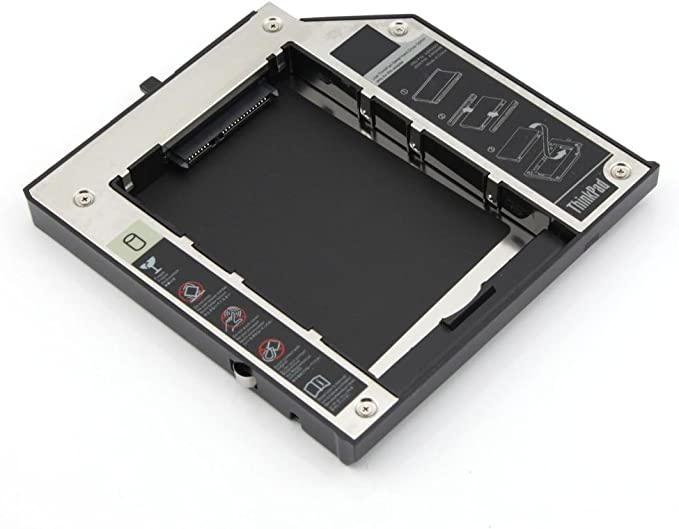 SATA 2 nd HDD o SSD Disco Duro Bandeja Caddy para Lenovo ThinkPad ...