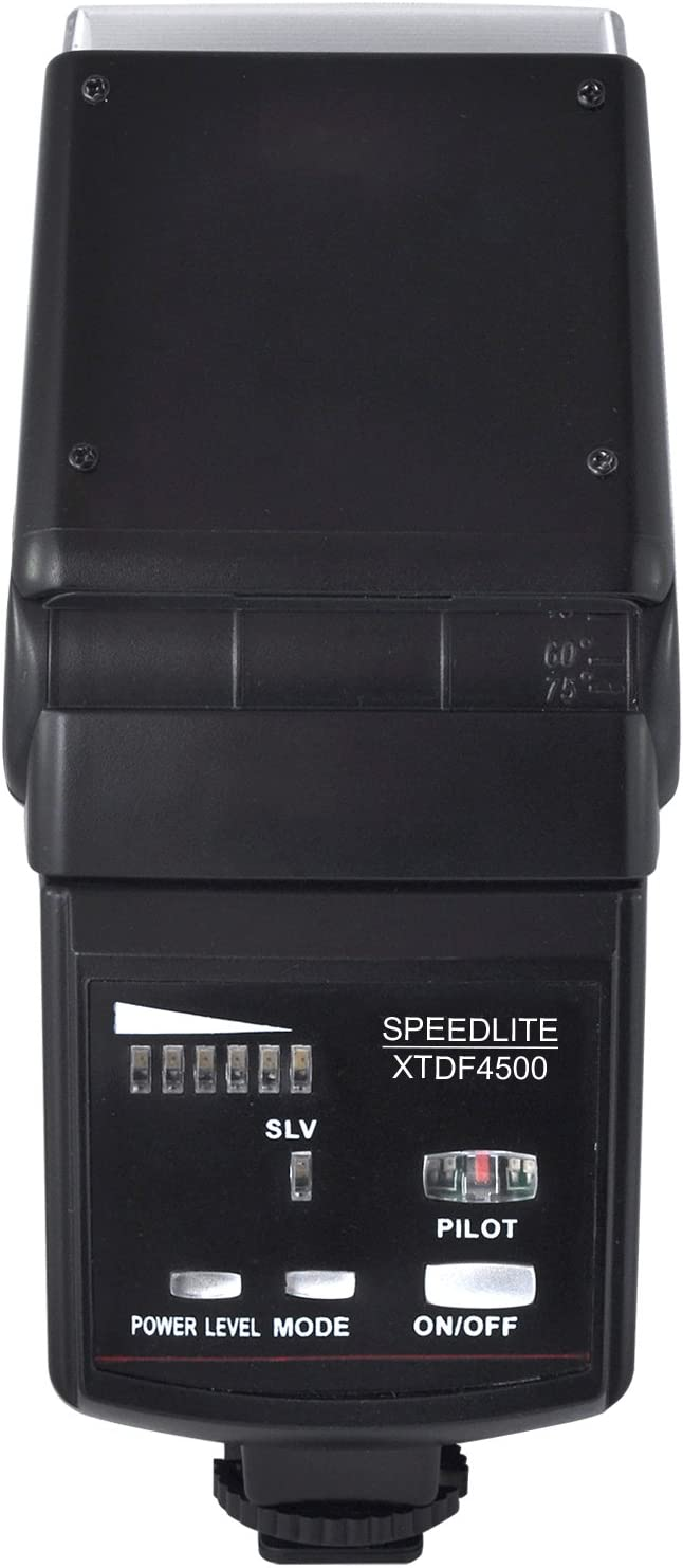 Black Xit XTDF4500 Universal Automatic Zoom and Bounce Flash